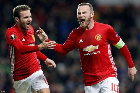 Man United 4-0 Feyenoord: Dai tiec co Rooney, Mata va Mkhitaryan - Anh 1