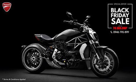 'Xe no' Ducati giam gia ca tram trieu trong ngay Black Friday - Anh 1