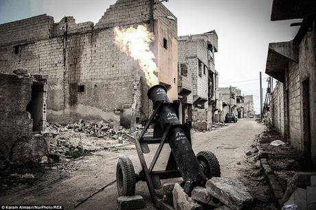 Hoang hon phao than cong...tu hanh cua phien quan Syria - Anh 9