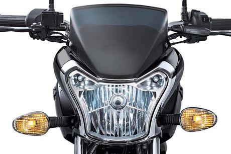Xe moto con tay Bajaj V12 'chot gia' 17 trieu tai An Do - Anh 4
