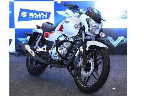 Xe moto con tay Bajaj V12 'chot gia' 17 trieu tai An Do - Anh 5