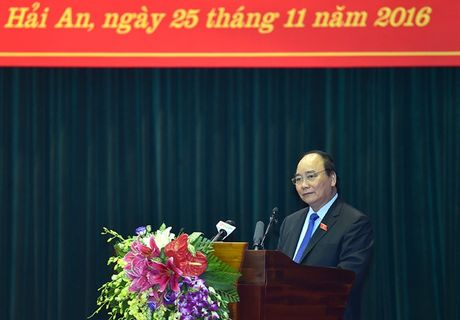 Thu tuong giai dap nhieu y kien cua cu tri Hai Phong - Anh 1