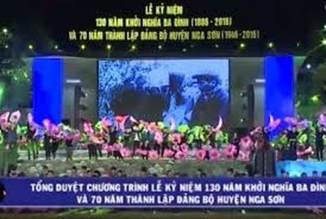 Thanh Hoa ky niem 130 nam Khoi nghia Ba Dinh - Anh 1