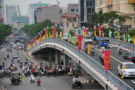 Phan luong giao thong nut giao Lang Ha - Thai Ha - Anh 1