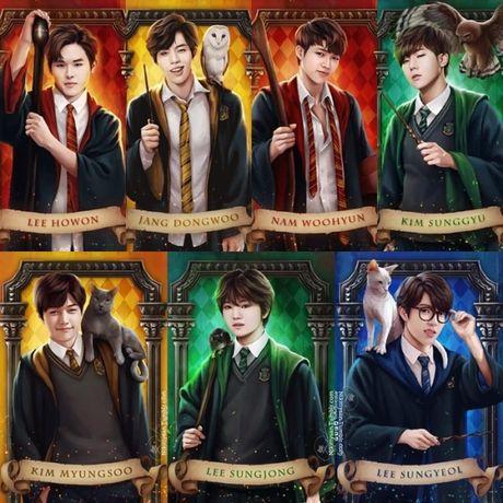Phan loai cac idol Kpop khi gia nhap the gioi phu thuy 'Harry Potter' - Anh 10