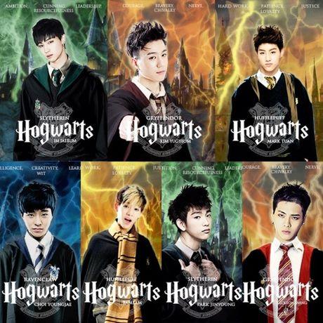 Phan loai cac idol Kpop khi gia nhap the gioi phu thuy 'Harry Potter' - Anh 2