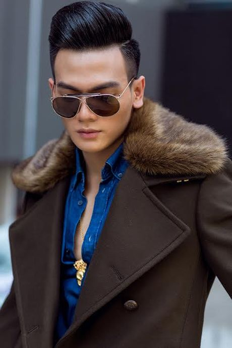 Le Xuan Tien dao pho voi trang phuc Thu Dong da sac mau - Anh 8