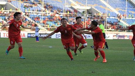 Viet Nam tang 7 bac tren bang xep hang FIFA - Anh 1