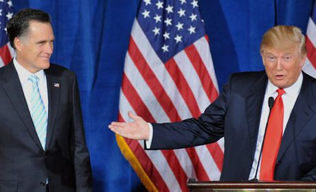 Co van cua ong Trump bi 'bom' tin nhan mang mo Mitt Romney - Anh 1