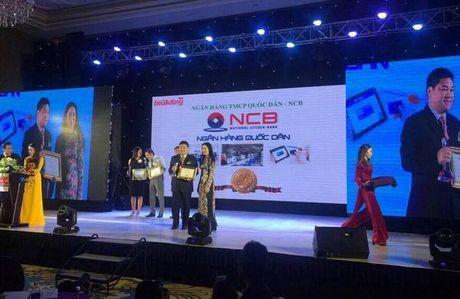 NCB Smart nhan giai thuong Tin va Dung Viet Nam 2016 - Anh 1