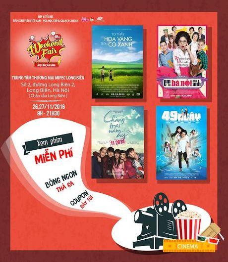 Mua sam tha ga - xem phim mien phi tai Hoa Hoc Tro's Weekend Fair - Anh 2