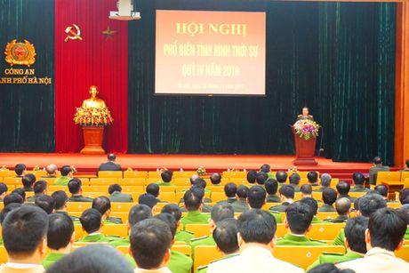 Cong an Ha Noi to chuc hoi nghi pho bien tinh hinh thoi su - Anh 1