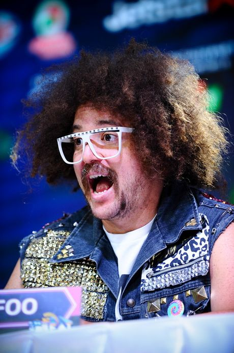 Redfoo - 'Ong Hoang Party Rock' thich thu khi den Viet Nam - Anh 5