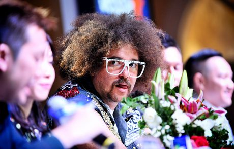Redfoo - 'Ong Hoang Party Rock' thich thu khi den Viet Nam - Anh 6