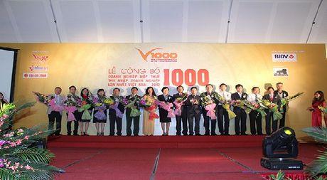 Tong cuc Thue khang dinh khong lien quan den Bang xep hang V1000 cua Vietnam Report - Anh 1