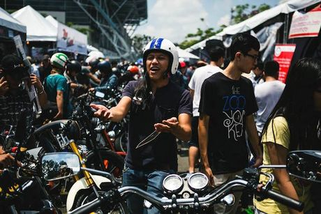 Sap dien ra le hoi moto lon nhat Viet Nam - Anh 1