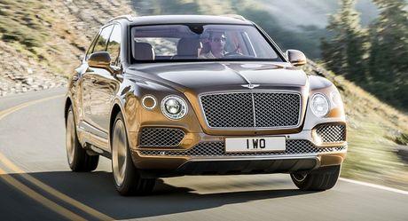 Thu hoi lan dau tien voi SUV sieu sang Bentley Bentayga 2017 - Anh 1