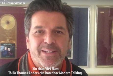 Thomas Anders khang dinh se 'chay' het minh trong 2 dem nhac tai Viet Nam - Anh 3