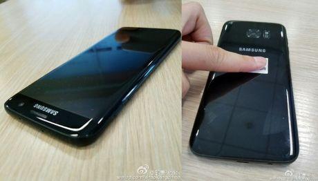 Khong chiu kem canh Apple, Samsung them mau Glossy Black cho Galaxy S7 - Anh 1