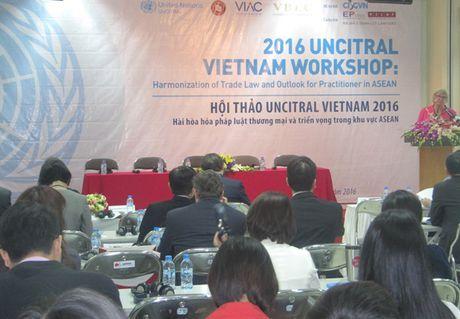 Hoi thao UNCITRAL Viet Nam 2016 - Anh 1
