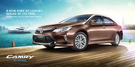 Toyota muon tang cuong ban xe hybrid tai An Do - Anh 1