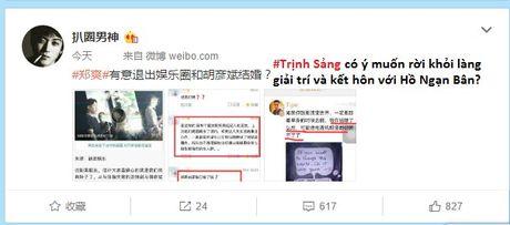 Ro tin Trinh Sang se roi khoi lang giai tri de ket hon voi 'tinh cu' Ho Ngan Ban - Anh 4