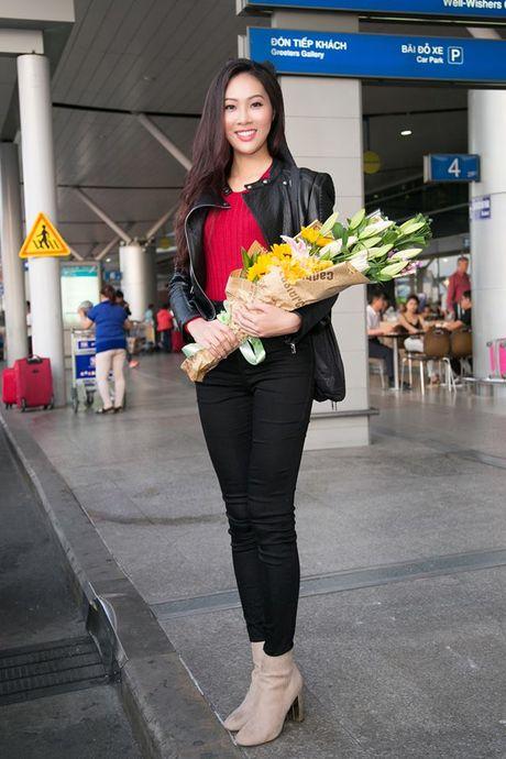 Dieu Ngoc mang 100kg hanh ly sang My thi Miss World 2016 - Anh 4
