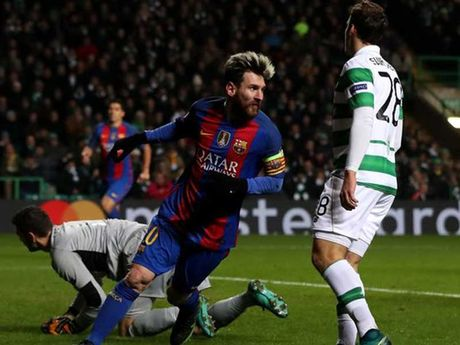 Champions League: Barca, Man.City vao vong knock-out - Anh 1