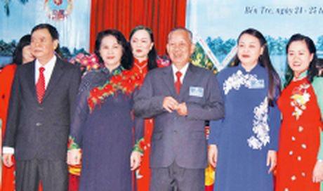Chu tich QH Nguyen Thi Kim Ngan du Dai hoi dai bieu Hoi Lien hiep Phu nu tinh Ben Tre - Anh 1