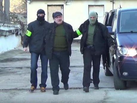 Nga bat nghi pham gian diep Ukraine - Anh 1