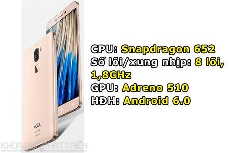 Smartphone camera kep, chip Snapdragon 652, gia re bat ngo - Anh 1