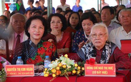 Mung tho 100 tuoi phu nhan co TBT Nguyen Van Linh - Anh 1