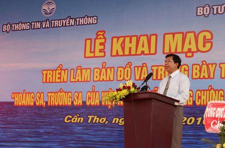 Tu lieu chu quyen Hoang Sa, Truong Sa den voi Quan khu 9 - Anh 1