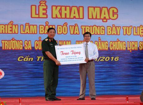 Tu lieu chu quyen Hoang Sa, Truong Sa den voi Quan khu 9 - Anh 2