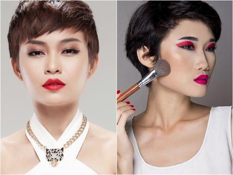 Vietnam's Next Top Model to Kha My Van, Mau Thuy vo to chuc - Anh 1