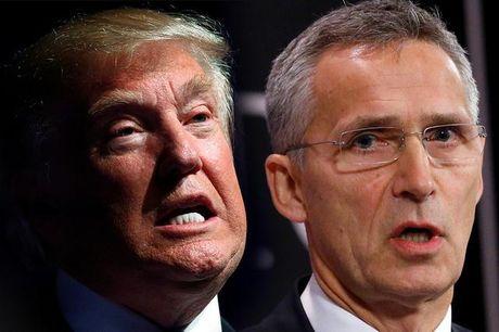 NATO gui 'toi hau thu' dap tra ong Trump vi 'dam' coi thuong khoi quan su nay - Anh 1