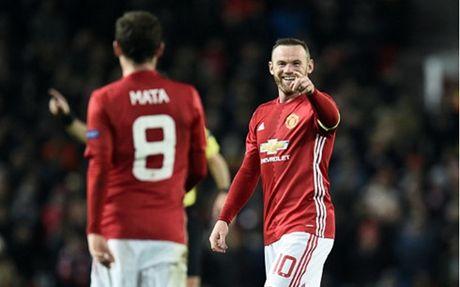 Rooney toa sang, MU 'huy diet' Feyenoord - Anh 1