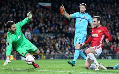 Cham diem MU 4-0 Feyenoord: Nga mu truoc Rooney - Anh 9