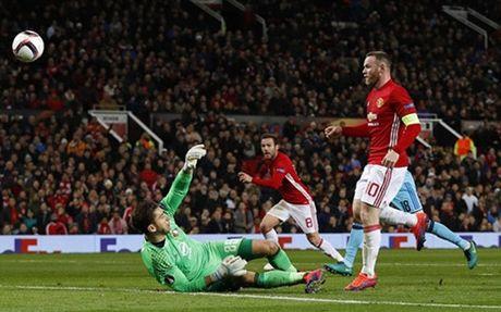 Tieu diem the thao: Rooney lap ky luc, MU dai thang Feyenoord - Anh 1
