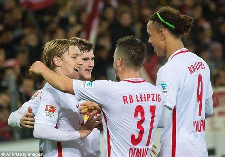 Thang huy diet, RB Leipzig bo xa Bayern Munich den 6 diem - Anh 1