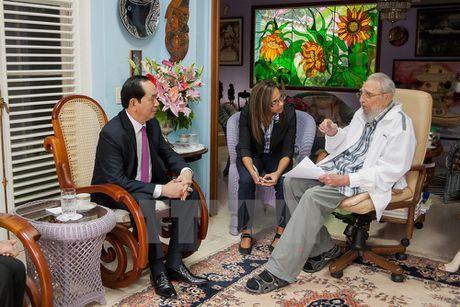 Lanh tu Fidel Castro va tinh cam keo son voi Viet Nam - Anh 13