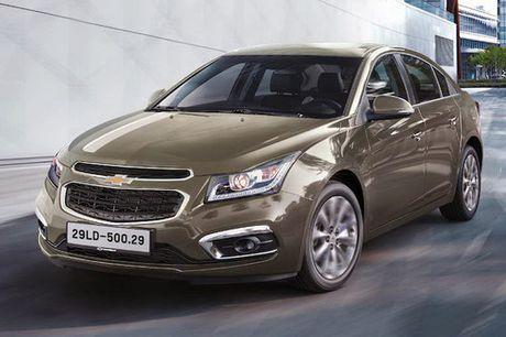 Chevrolet Cruze tai Viet Nam duoc nang cap - Anh 1