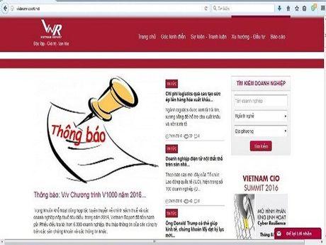 Vietnam Report tung cong bo 'DN chua hai long voi nganh Thue' - Anh 2