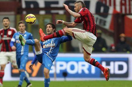 02h45 ngay 27/11, Empoli vs Milan: Khong the truot chan - Anh 1