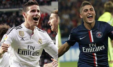 150 trieu euro, Inter muon co ca Rodriguez lan Verratti - Anh 1