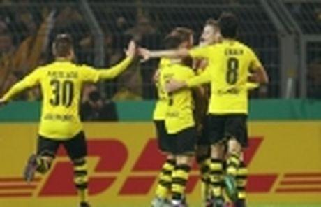 Cap nhat ti so: Eintracht Frankfurt 1-0 Borussia Dortmund (Hiep 2) - Anh 3