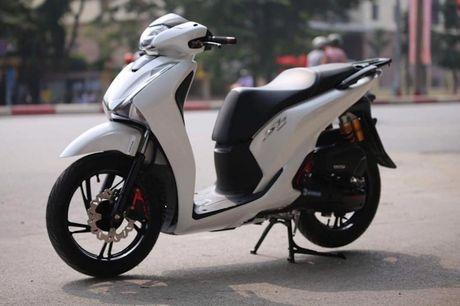 Xem dan choi Ha Noi 'len do choi' Honda SH 2017 - Anh 1
