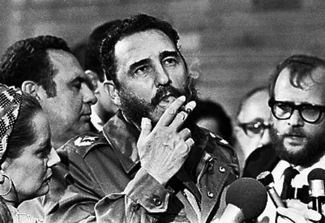 Lanh tu Cuba Fidel Castro qua doi o tuoi 90 - Anh 4