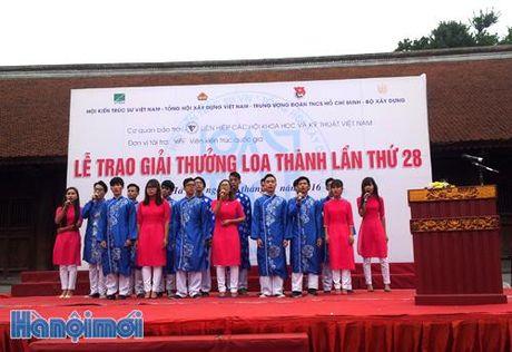 Trao Giai thuong Loa Thanh lan thu 28 – nam 2016 - Anh 1