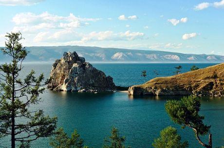 Ho nuoc ngot Baikal - Diem du lich hut khach o nuoc Nga - Anh 1